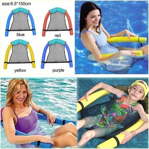 MAZIMARK-Hot Swimming toys Noodle Pool Floating Chair Net Swimming Pool Seat Water Toy by MAZIMARK