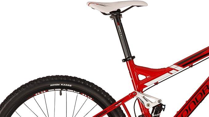 Bicicleta de montaña Mondraker tracker R Red/Black (2012) (marco tamaño: 48 cm): Amazon.es: Deportes y aire libre