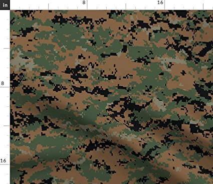 sneakers for cheap pretty cheap exclusive deals Amazon.com: Spoonflower Camouflage Fabric - Marine Marpat ...
