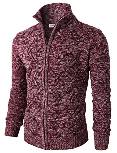 H2H Knitted Cardigan Twisted Pattern