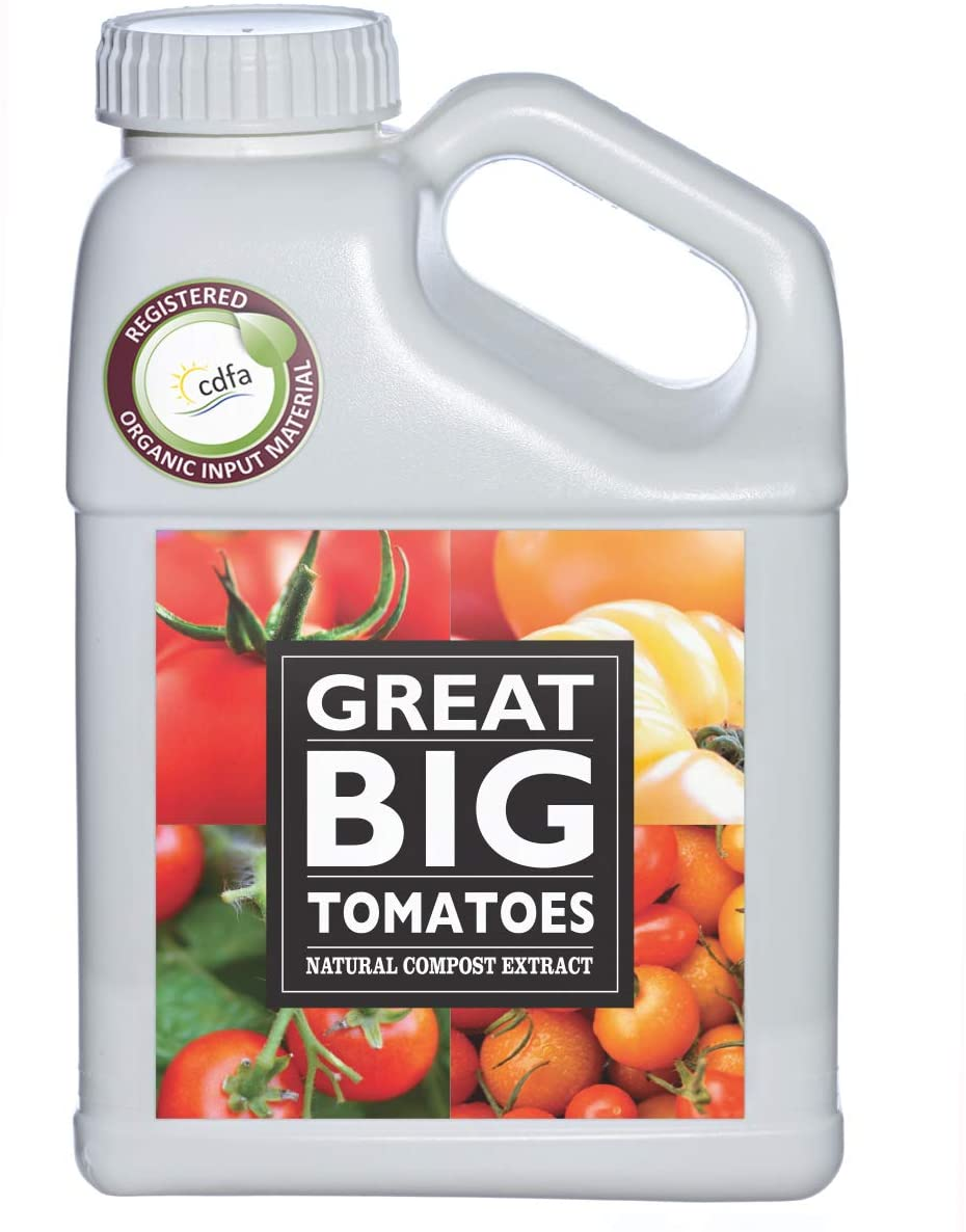 Great Big Tomatoes Natural Compost Extract Fertilizer, 1-Gallon