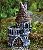 Fiddlehead Castle Fairy Home / House – 4.5″ Diameter X 9″ Tall For Sale