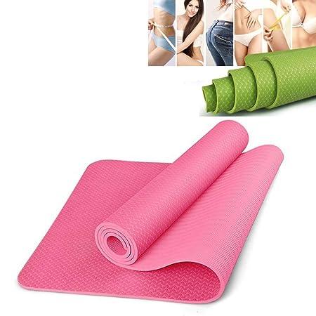 ZQSLD Esterilla Yoga,Alfombrilla de Ejercicio Antideslizante ...