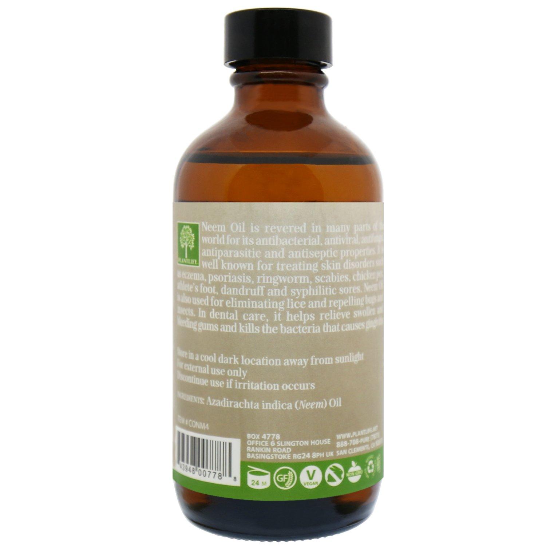 Amazon com : Organic Neem Carrier Oil 4 oz - 100% Pure Cold