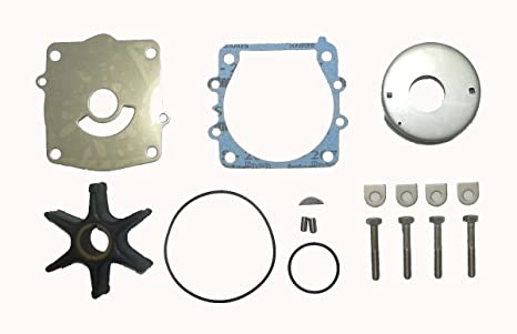Yamaha Impeller Service Kit V150 Hp 64L 2000-2005 WSM 725-433 OEM# 61A-W0078-01-00 61A-W0078-A1-00 61A-W0078-A2-00 61A-W0078-A3-00