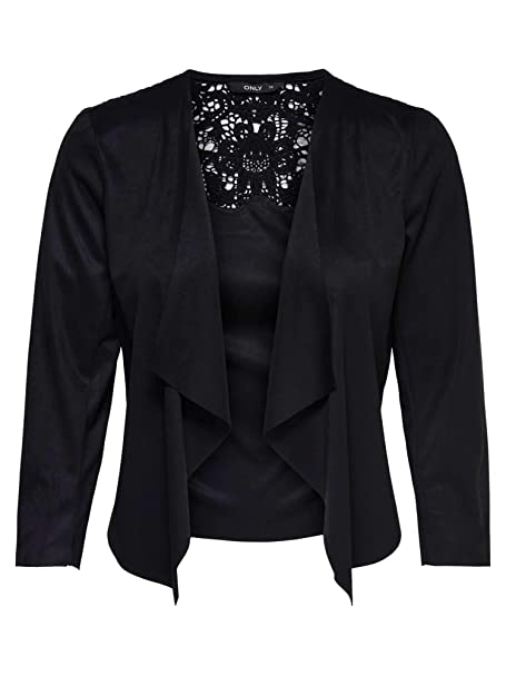937ab8831196 Only 15152863 Amy Giacca E Blazer Donna Black 34 XS  Amazon.it   Abbigliamento