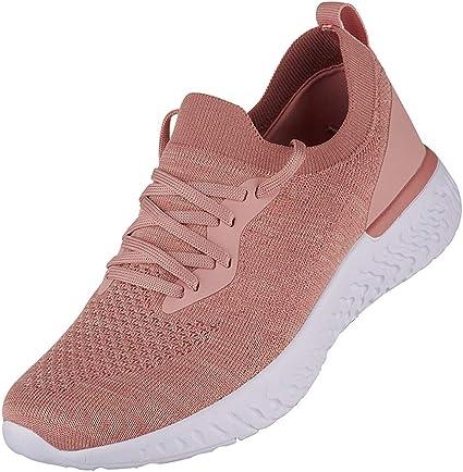 Zapatos Planos Para Mujer Zapatillas Deportivas De Mujer De Malla Transpirables Zapatillas De Deporte Ligeras Para Caminar Zapatillas Running Para Mujer Casual Wyxhkj: Amazon.es: Ropa y accesorios