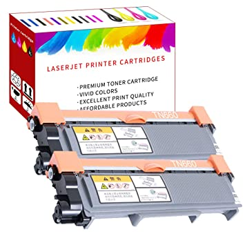 2x Generic TN660 Black Toner For Brother tn660 HL-L2360DW HL-L2380DW MFC-L2700DW