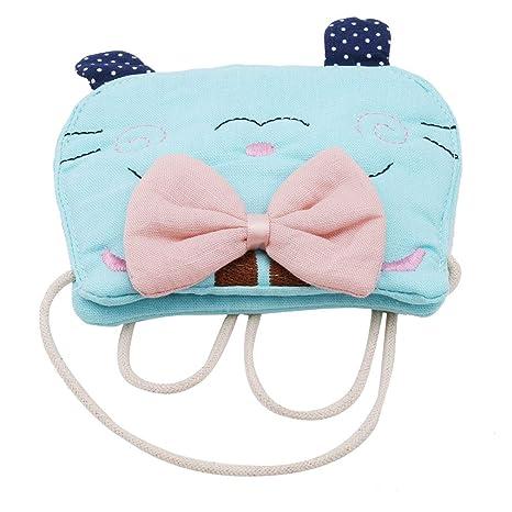 Kingus - Monedero para niños, diseño de Gato, algodón, Verde ...