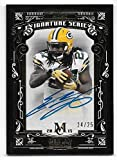 2015 Topps Museum Signature Series Gold #EL Eddie Lacy On Card Autograph #24/25