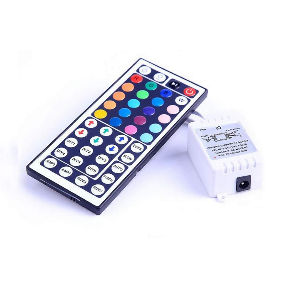 Loweryeah IR LED Remote Controller 44 Keys Mini Wireless Dimmer Control DC 12V for 5050 3528 RGB LED Light Strip