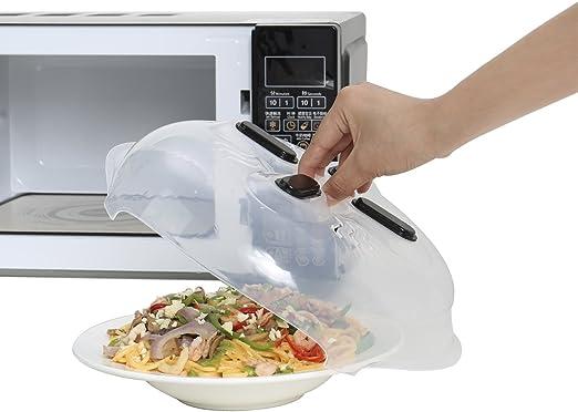 Tapa antisalpicaduras de microondas con protector magnético ...