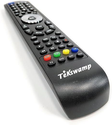 Tekswamp TV Remote Control for Philips 42PFL5332D//37