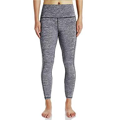 ADELINA Pantalón De Yoga para Mujer De Pantalones Yoga ...