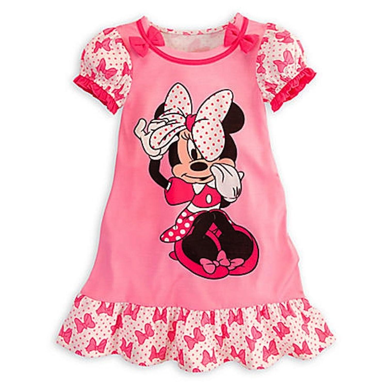 Amazon Disney Minnie Mouse Pink Nightshirt Nightgown Pajamas