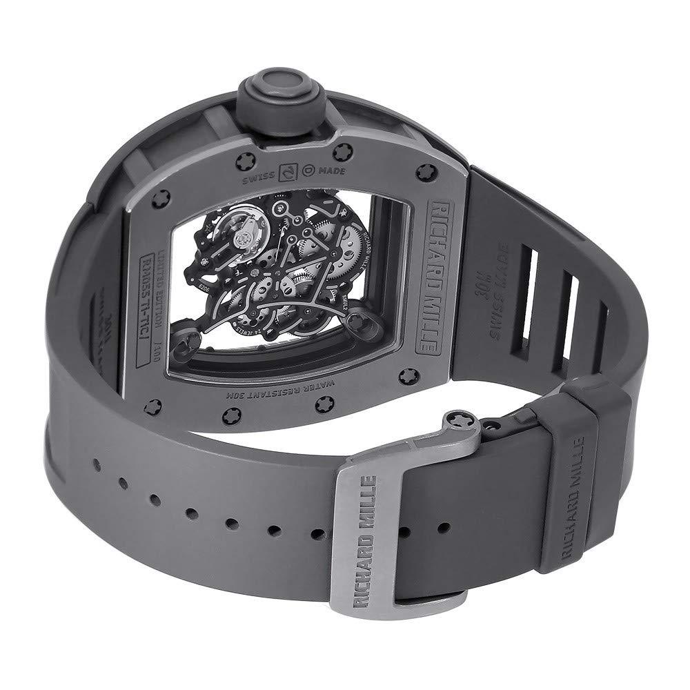 Richard Mille RM 055 RM055 - Reloj mecánico de Cuerda Manual para Hombre: Richard Mille: Amazon.es: Relojes