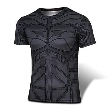 Super Heroes Batman T Shirt Hombres Ropa Traje Tee Shirt ...
