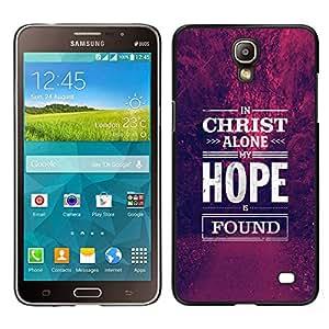 iBinBang / Funda Carcasa Cover Skin Case - Espérance chrétienne motivation - Samsung Galaxy Mega 2