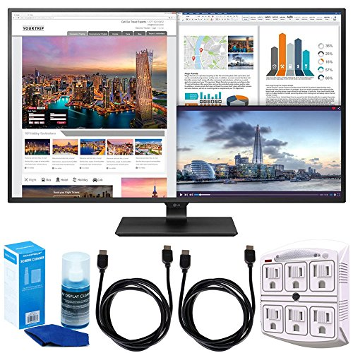 """LG 43UD79-B 43"""" 4K Ultra HD IPS LED Monitor w/ Accessories B"""
