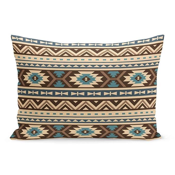 Amazon.com: Fundas de almohada semtomn con patrón rosa de ...