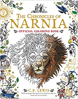 The Chronicles Of Narnia Official Coloring Book C S Lewis Pauline Baynes 9780062564771 Amazon Books
