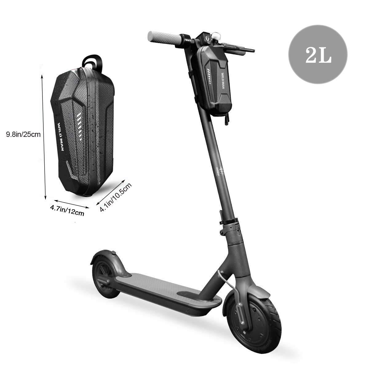 resistente al agua gran capacidad bolsa de almacenamiento para scooter el/éctrico para Xiaomi M365 Sedway Ninebot ES ES1//ES2//ES3//ES4 bolsa frontal para colgar Bolsa de almacenamiento para scooter