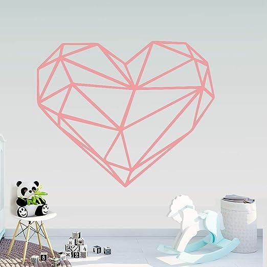 Creatividad Geometría Corazón Pegatinas de pared Arte de la pared ...