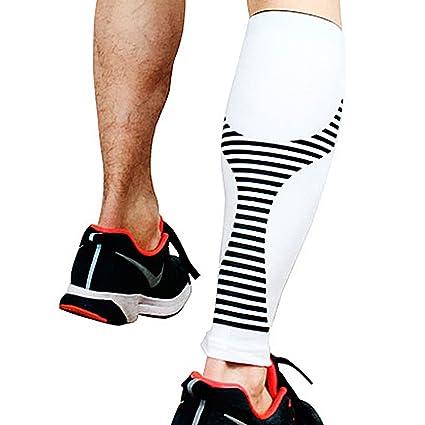 Mangas de pierna de compresión de becerro de neopreno, calcetines de soporte perfecto de YooGer