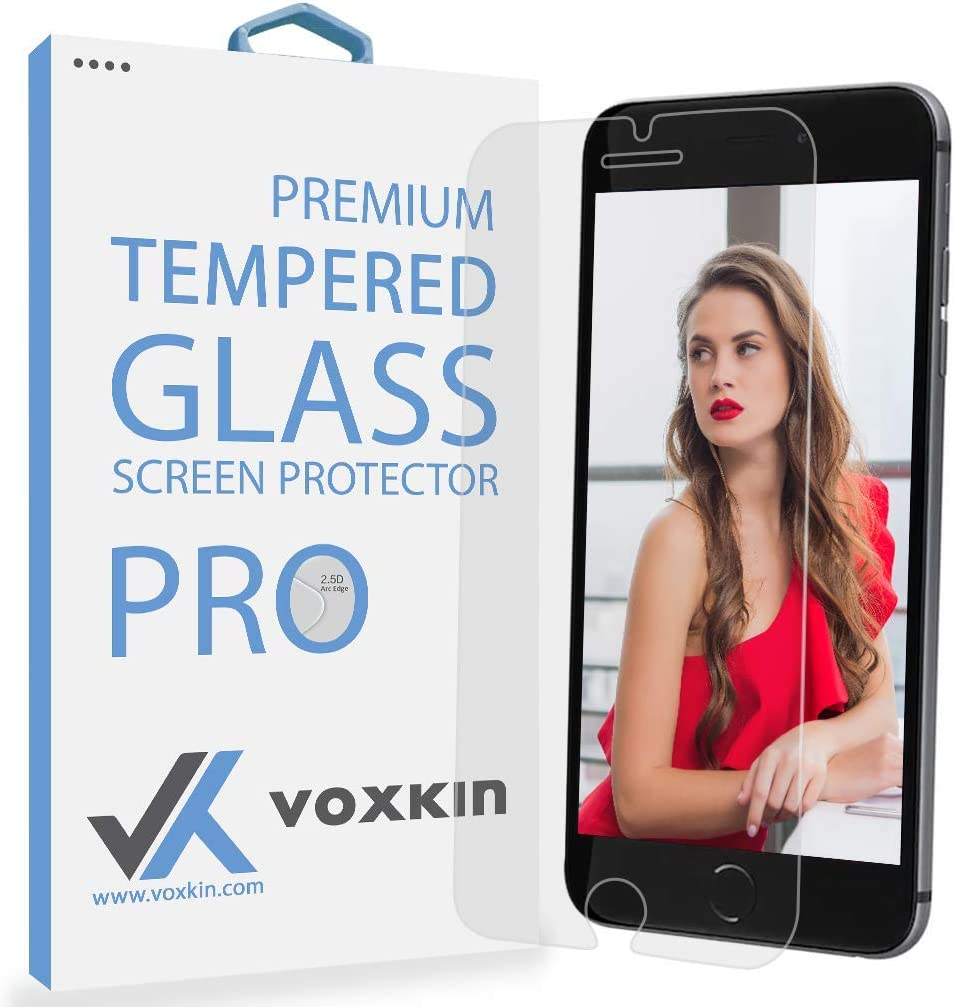 [ PREMIUM ] Apple iPhone 6 Plus Tempered Glass Screen Protector - Shield, Guard & Protect Phone From Crash & Scratch - Anti Smudge, Fingerprint Resistant, Shatter Proof - Best Front Cover Protection