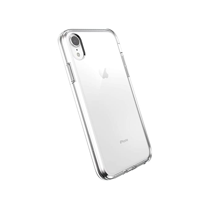 Amazon Com Amazonbasics Slim Case For Iphone Xr Clear Cell Phones