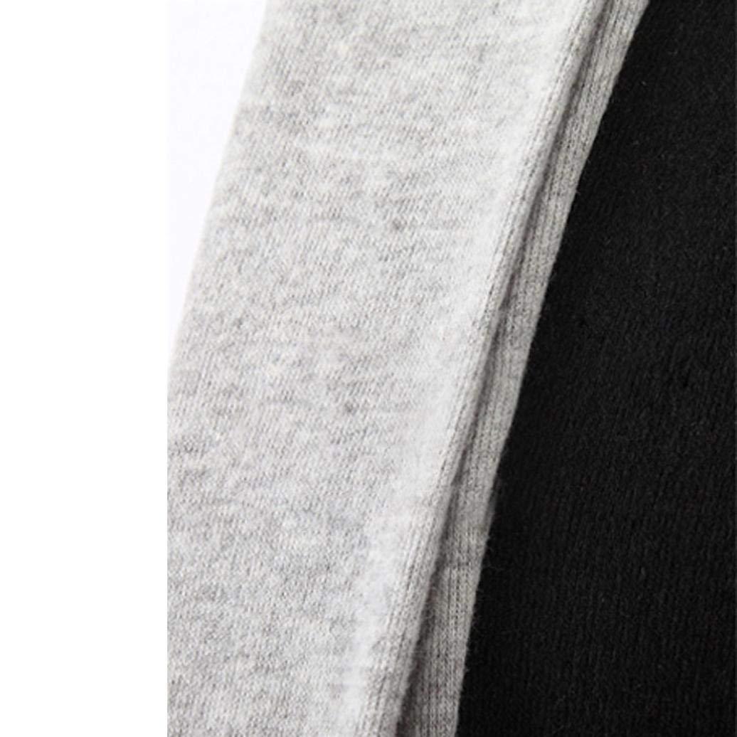 Muranba Clearance Men Stylish Cardigan Jacket Slim Long Coat