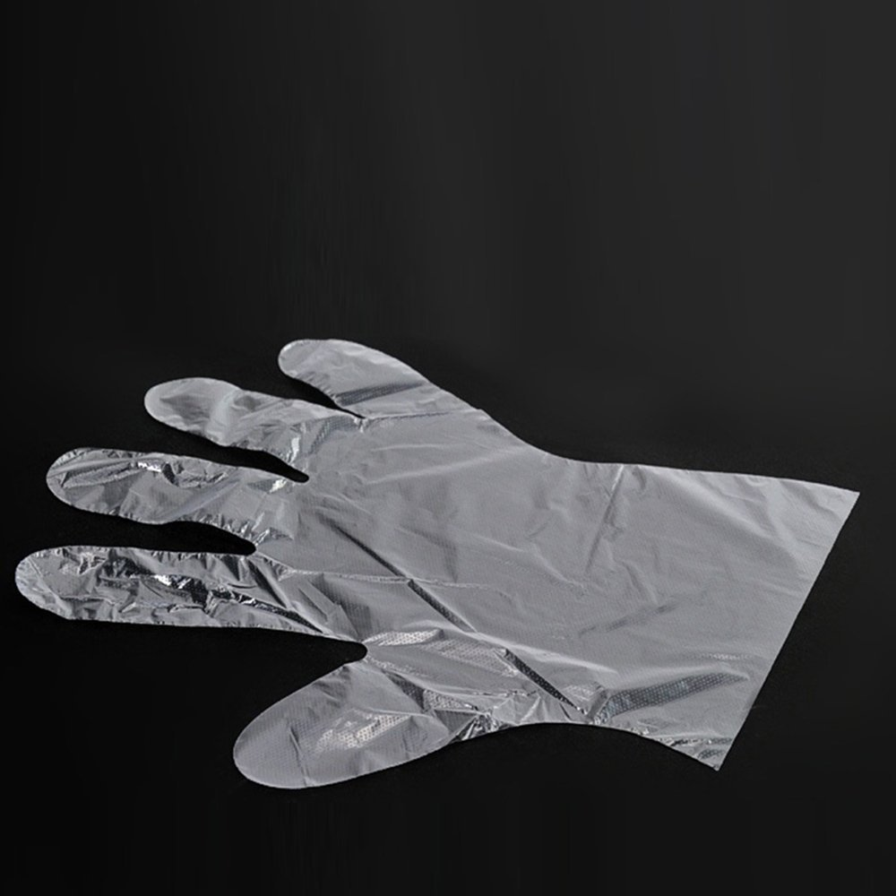 Disposable gloves - food - restaurants - cooking - wash the dishes - Beauty -pe film disposable gloves / pack of 600