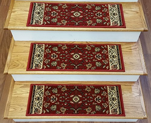 153333 - Rug Depot Premium Carpet Stair  - Claret Traditional Rug Shopping Results