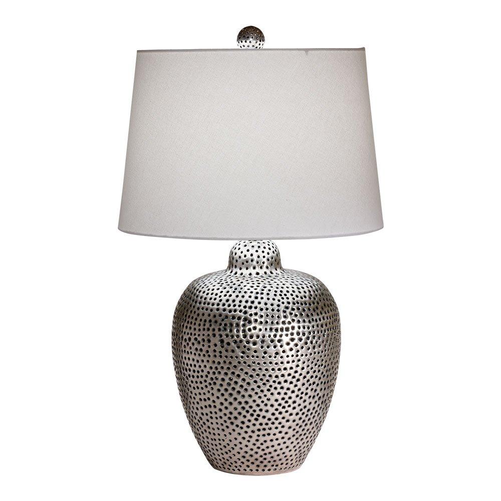 Ethan Allen Mason Table Lamp, Antique Nickel