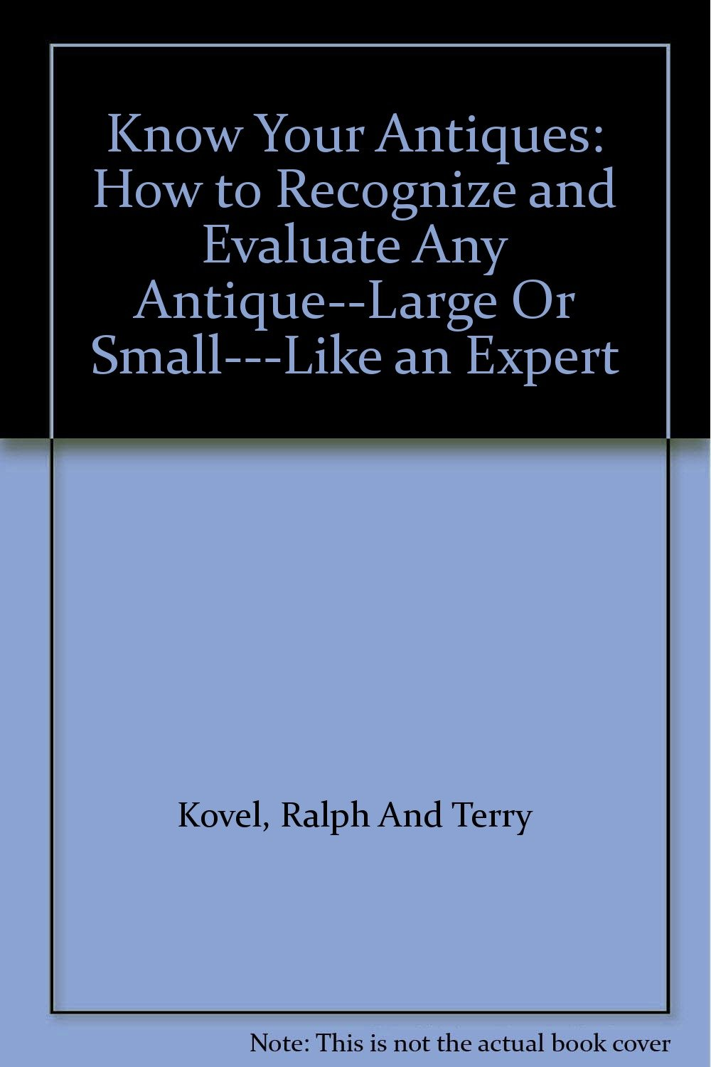 How to learn to evaluate antiques yourself