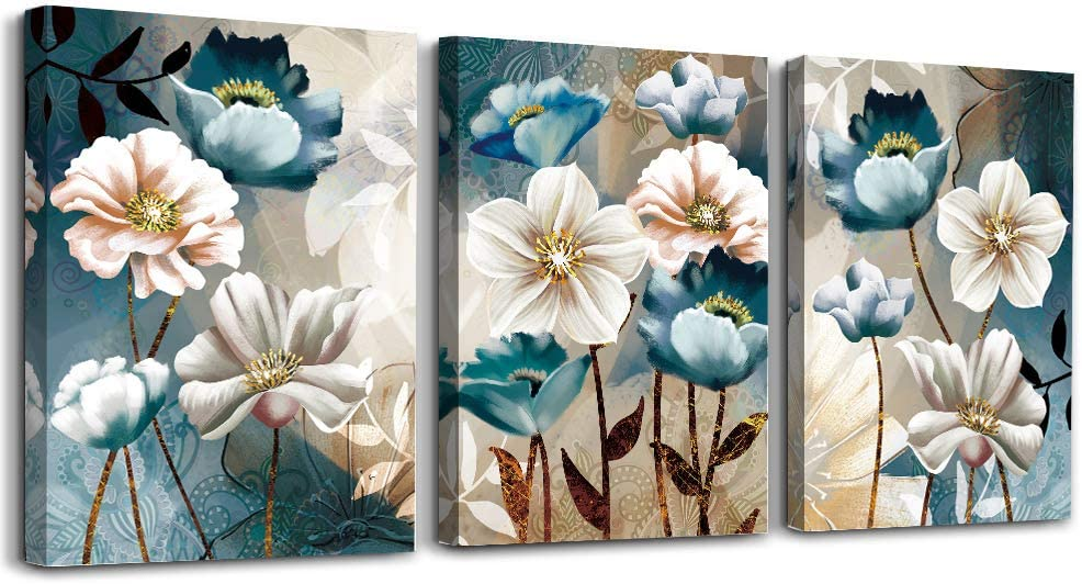 3 Piece Canvas Wall Art Prints For Living Room Bathroom Picture Wall Decor For Bedroom Dining Room Office Kitchen Murals