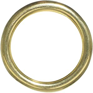 Craft County Metal O-Rings in Multiple Styles, Diameters, and Materials - Available in 5, 10, 25, 50, and 100 Packs