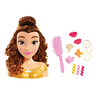 Disney Princess Basic Belle Styling Head: Toys & Games