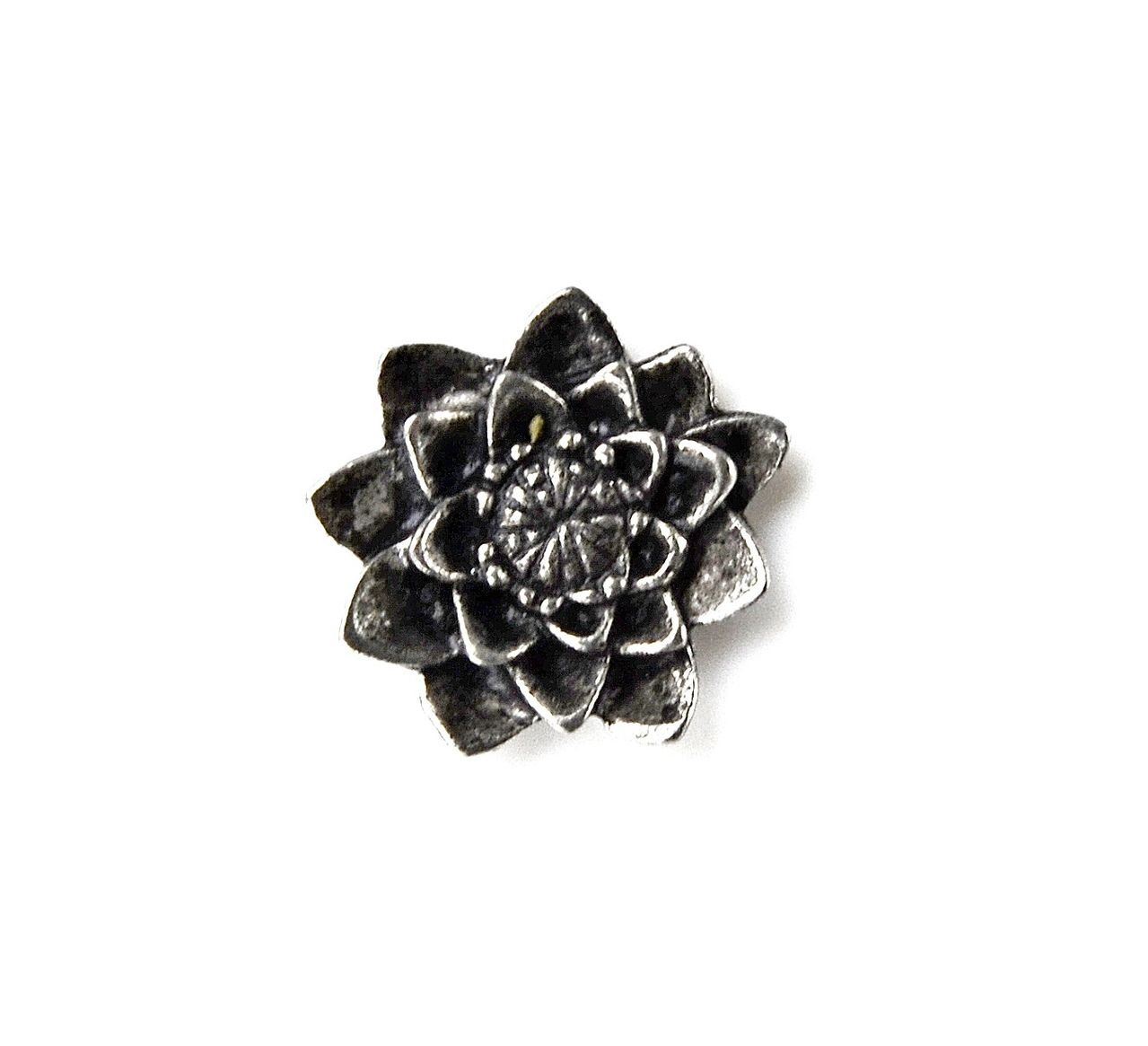 Quality Handcrafts Guaranteed Lotus Lapel Pin