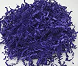 Purple 1LB - Crinkle Cut Paper Shred Filler for Gift Wrapping & Basket Filling | Colors of Rainbow