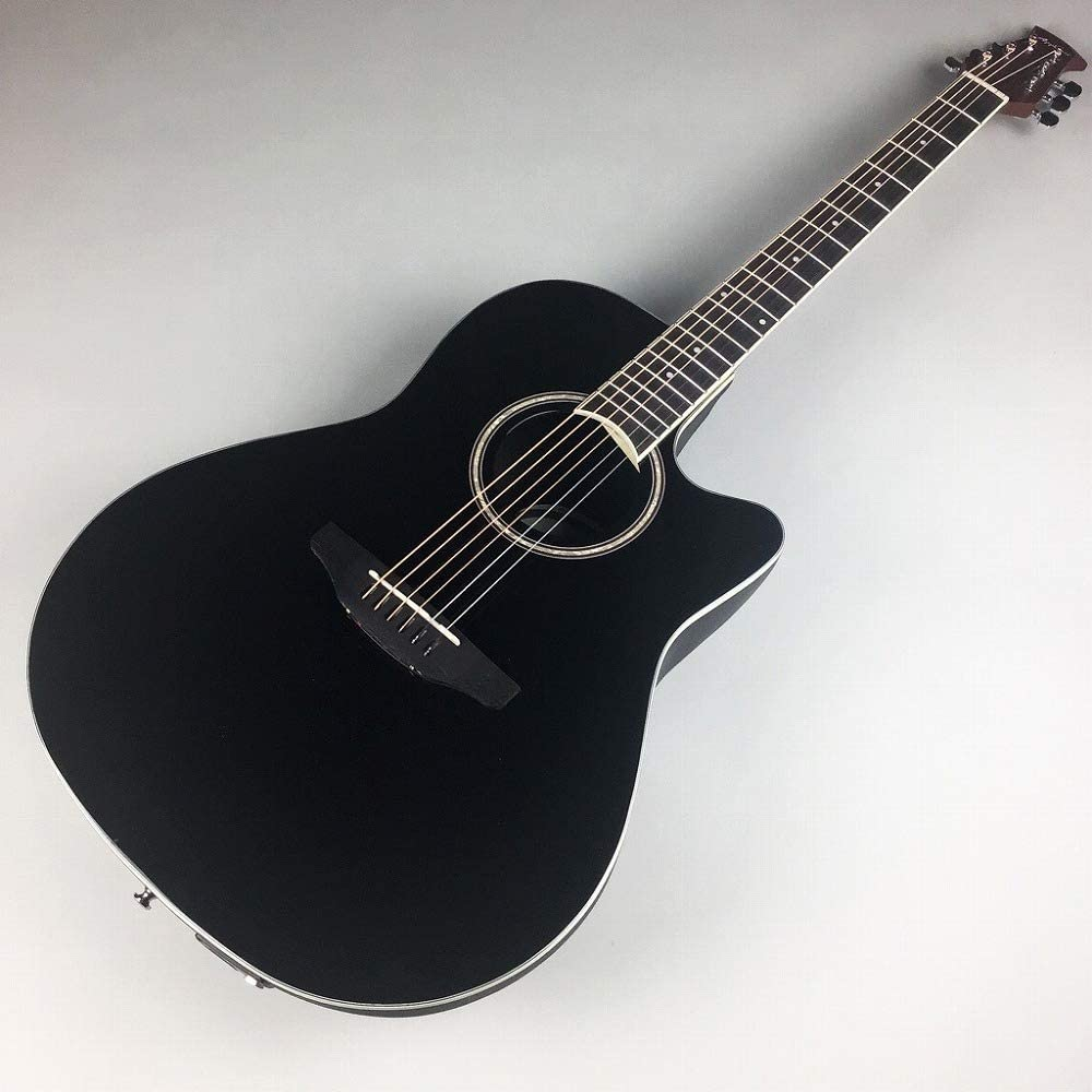 Ovation Applause Guitarra Electro-Acústica Mid Cutaway black ...