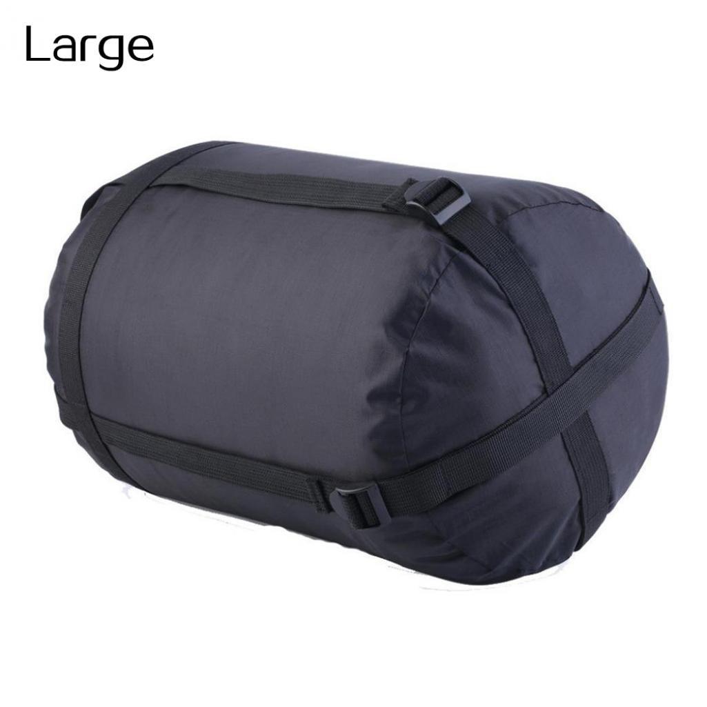 geshiintelスポーツナイロン防水圧縮Stuff Sackバッグアウトドアキャンプ寝袋 B07C78GY5R Large