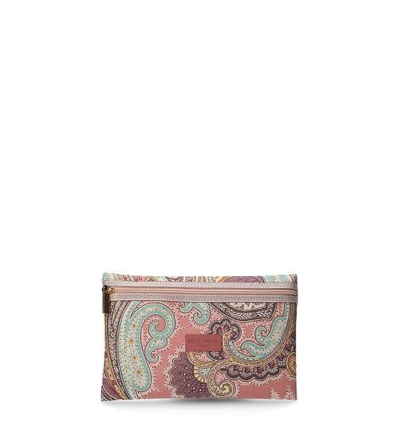 buy online 676c0 46a6e Etro Pochette Donna 0035200241 Poliestere Multicolor: Amazon ...