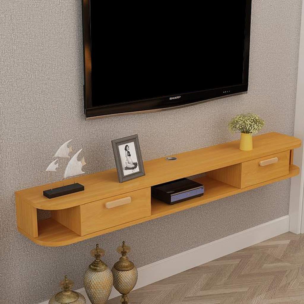Amazon.com: Wall-Mounted TV Cabinet Wall Shelf Floating ...