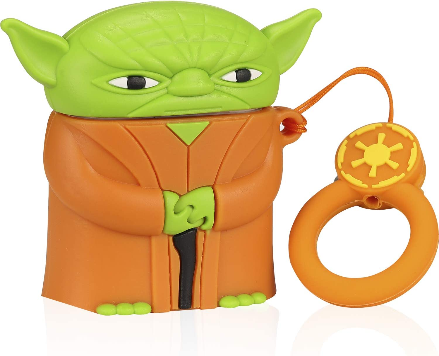 Fun Yoda Airpods Case Cover Airpods 2 1 2nd Generation Star