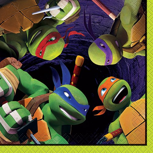 (Teenage Mutant Ninja Turtles Beverage Napkins,)