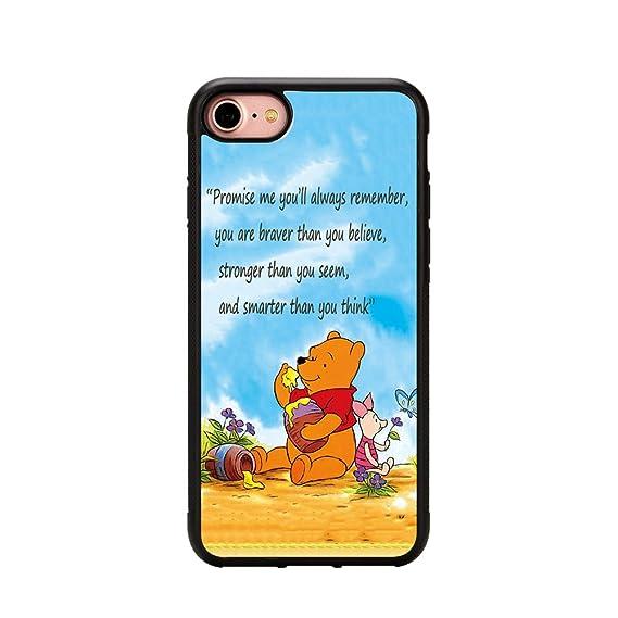 the latest 9c887 7f2e6 Winnie the Pooh Iphone 7 Case,Winnie the Pooh Phone Case for Iphone 7 4.7  Inches TPU Case