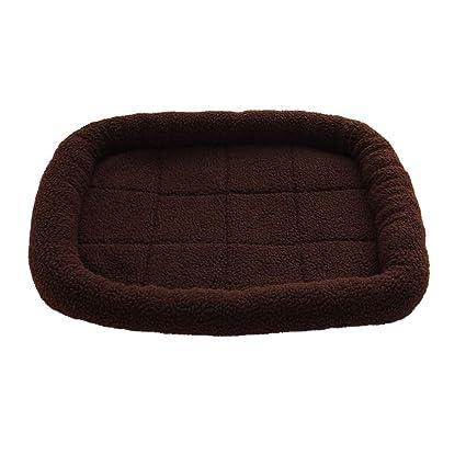 Amazon.com: Colchoneta para cama de perro, cómoda, suave ...