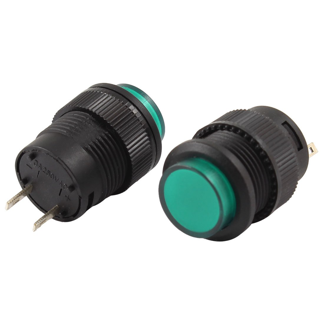 2 Piece UXCE9 Uxcell a13112100ux1065 Uxcell Push Button Switch