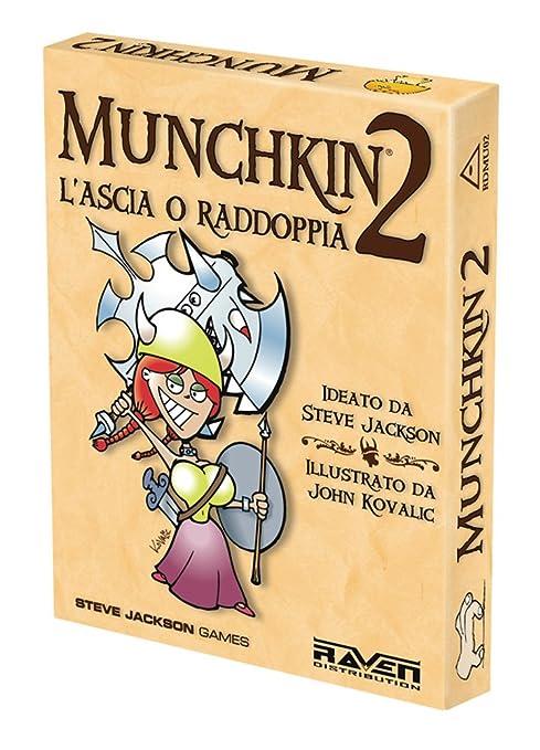 38 opinioni per Raven- Munchkin 2- L'Ascia O Raddoppia